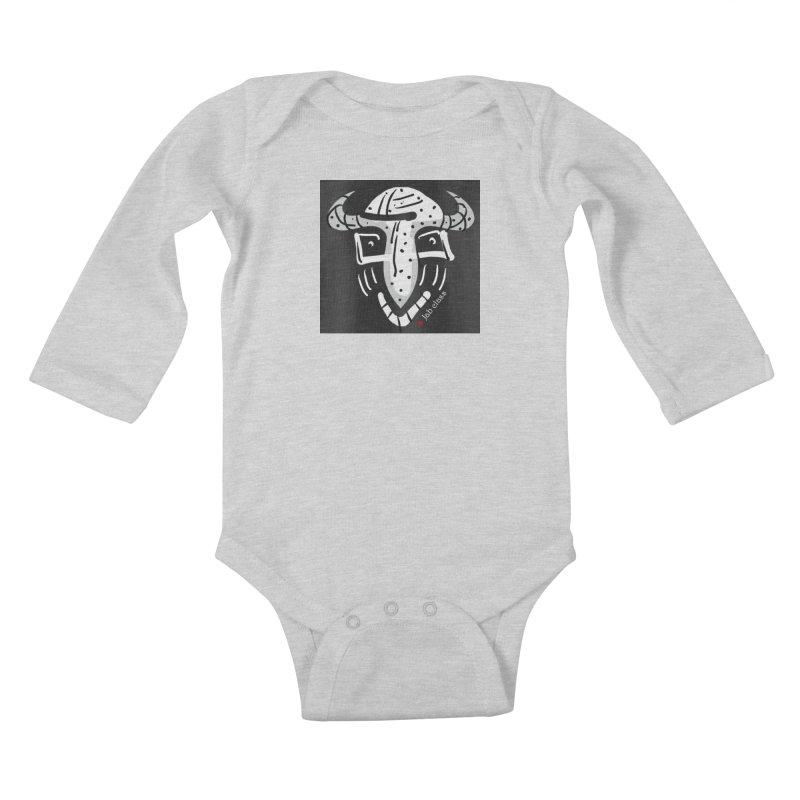 Jab Class Kids Baby Longsleeve Bodysuit by Mozayic's Artist Shop