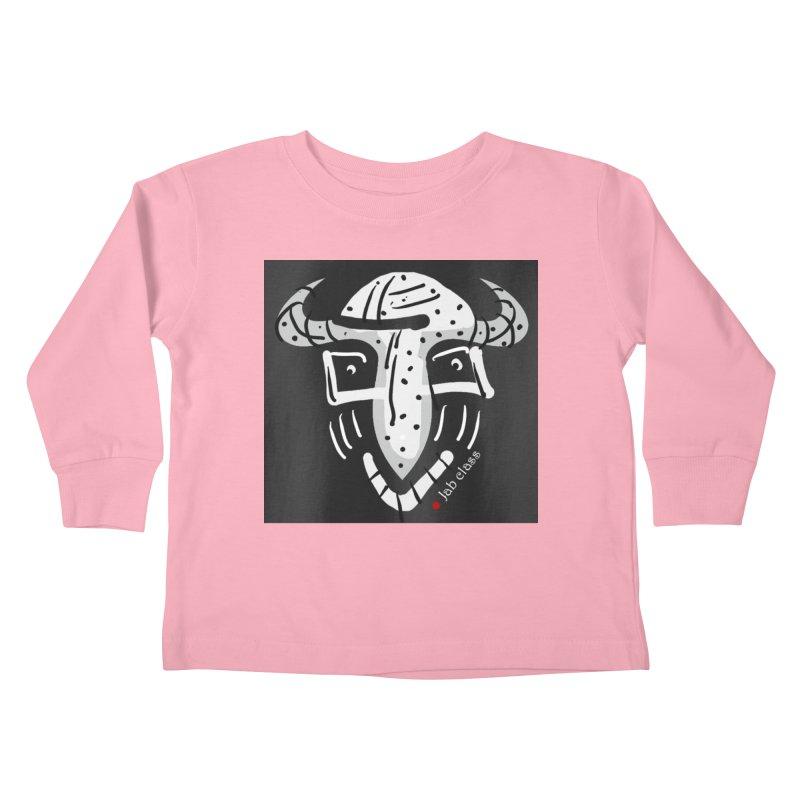 Jab Class Kids Toddler Longsleeve T-Shirt by Mozayic's Artist Shop