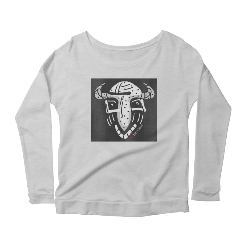 Jab Class Women's Scoop Neck Longsleeve T-Shirt by Mozayic's Artist Shop