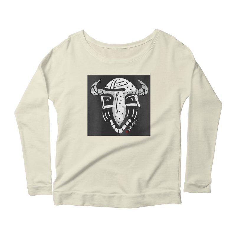 Jab Class Women's Scoop Neck Longsleeve T-Shirt by Mozayic's Artist Shop