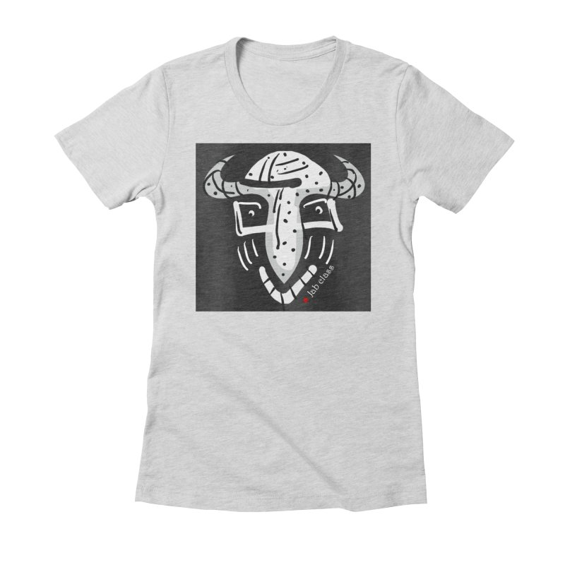 Jab Class Women's Fitted T-Shirt by Mozayic's Artist Shop