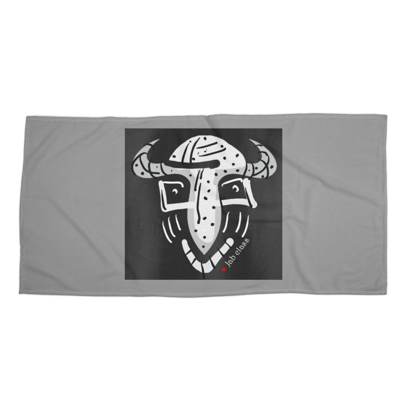 Jab Class Accessories Beach Towel by Mozayic's Artist Shop