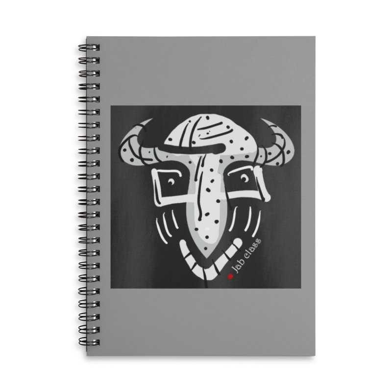 Jab Class Accessories Lined Spiral Notebook by Mozayic's Artist Shop