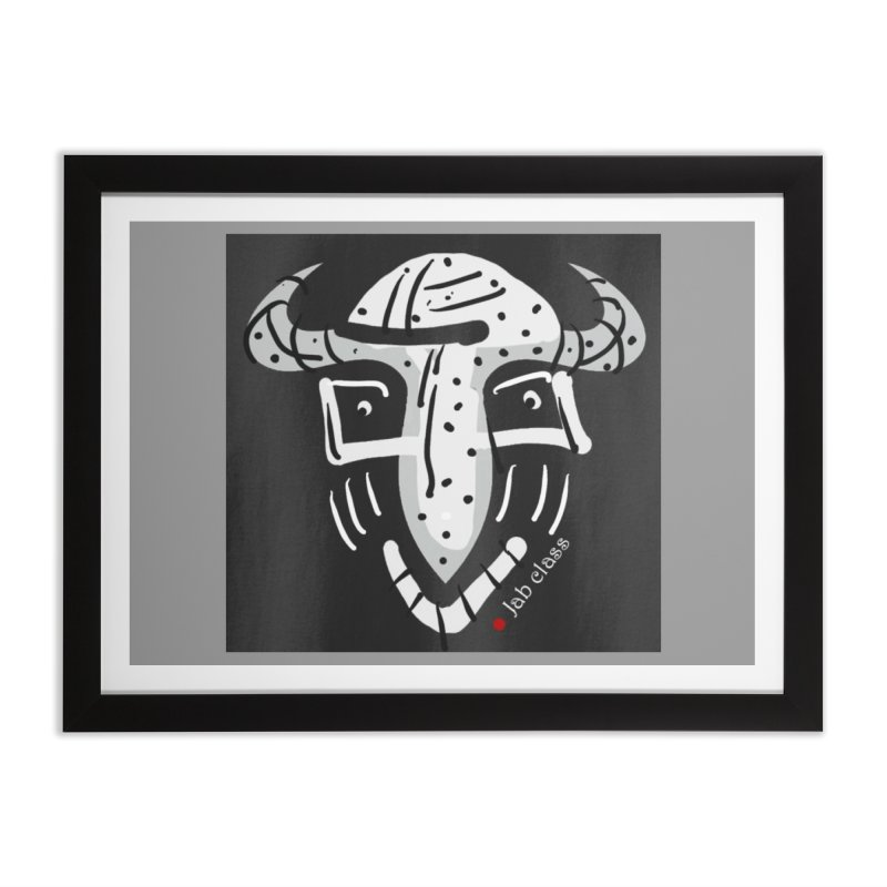 Jab Class Home Framed Fine Art Print by Mozayic's Artist Shop