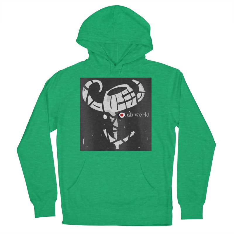 Jab Title Men's French Terry Pullover Hoody by Mozayic's Artist Shop