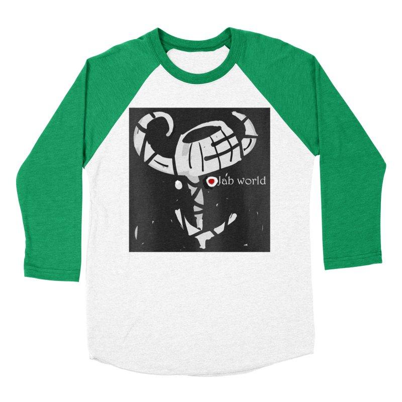 Jab Title Men's Baseball Triblend Longsleeve T-Shirt by Mozayic's Artist Shop