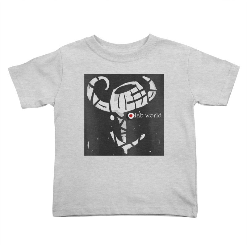 Jab Title Kids Toddler T-Shirt by Mozayic's Artist Shop
