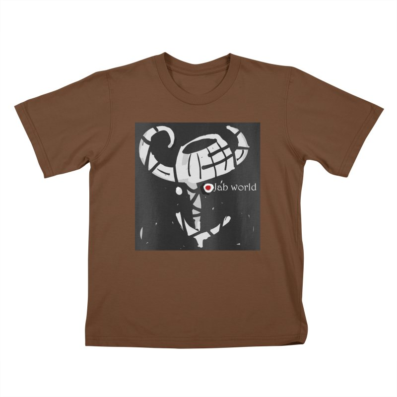 Jab Title Kids T-Shirt by Mozayic's Artist Shop