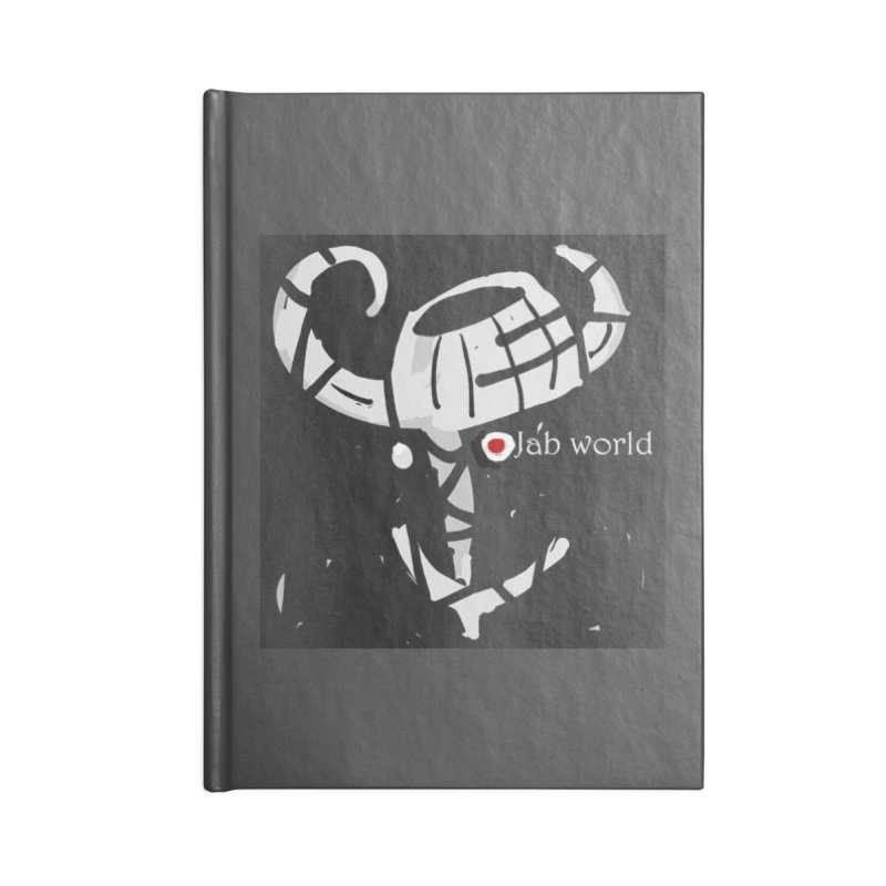 Jab Title Accessories Notebook by Mozayic's Artist Shop