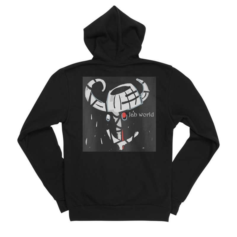 Jab Title Men's Sponge Fleece Zip-Up Hoody by Mozayic's Artist Shop
