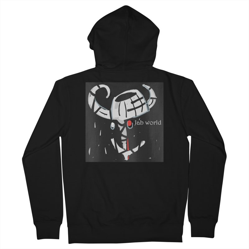 Jab Title Women's French Terry Zip-Up Hoody by Mozayic's Artist Shop