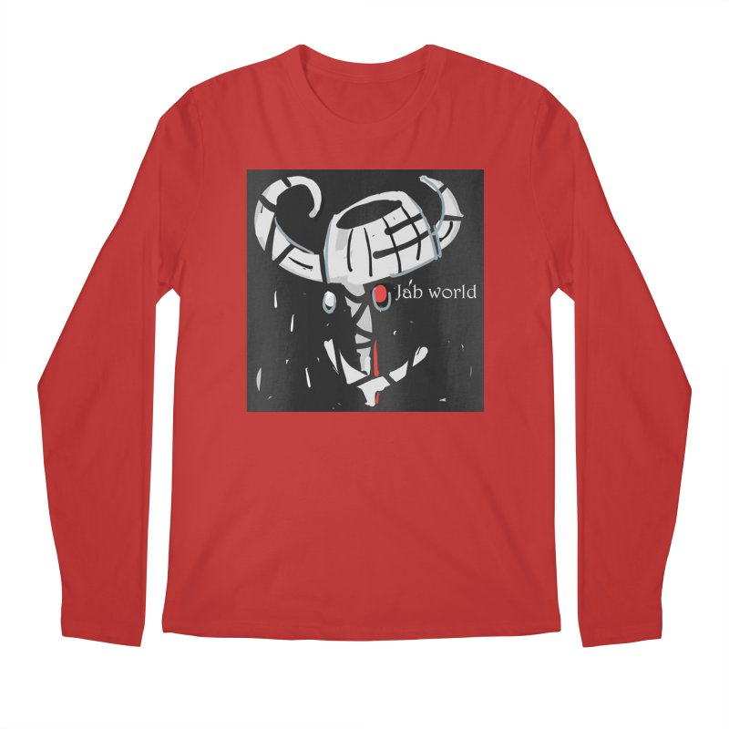 Jab Title Men's Regular Longsleeve T-Shirt by Mozayic's Artist Shop