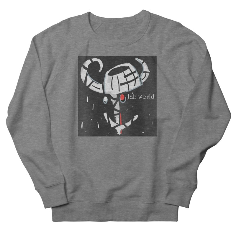 Jab Title Men's French Terry Sweatshirt by Mozayic's Artist Shop