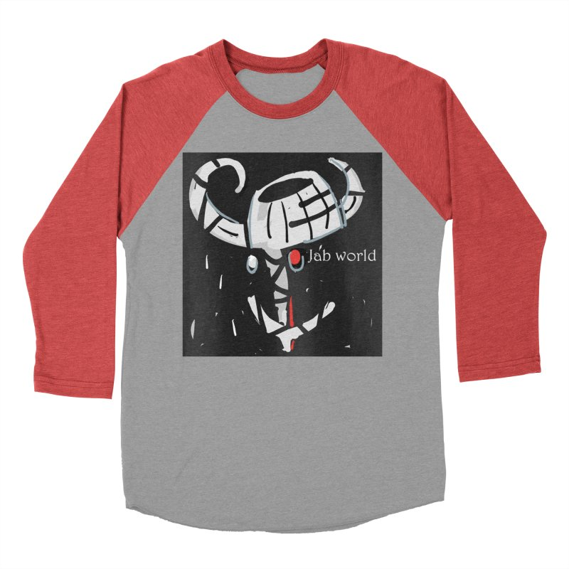 Jab Title Men's Baseball Triblend Longsleeve T-Shirt by Mozayic's Artist Shop