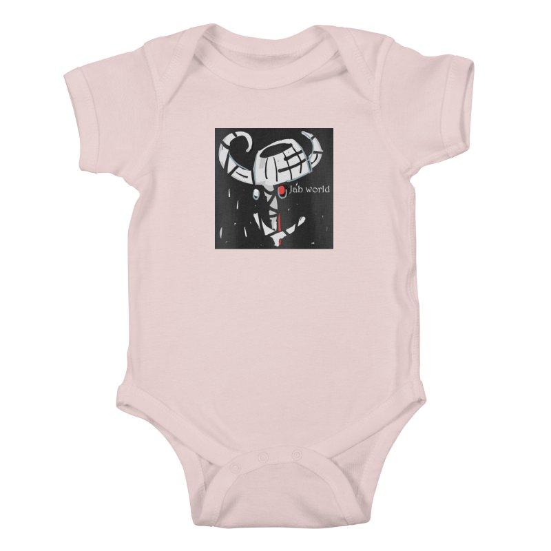 Jab Title Kids Baby Bodysuit by Mozayic's Artist Shop