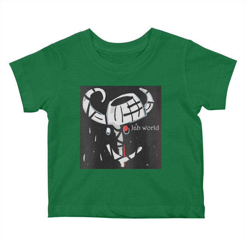 Jab Title Kids Baby T-Shirt by Mozayic's Artist Shop