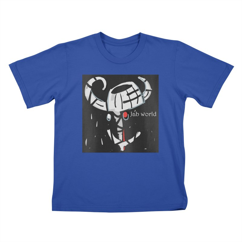 Jab Title Kids T-Shirt by Mozayic's Artist Shop