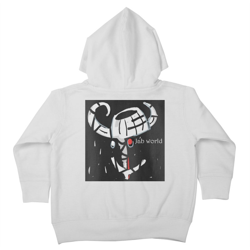 Jab Title Kids Toddler Zip-Up Hoody by Mozayic's Artist Shop