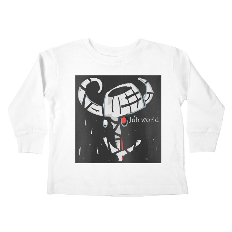 Jab Title Kids Toddler Longsleeve T-Shirt by Mozayic's Artist Shop