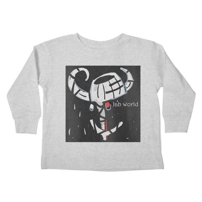 Jab Title Kids Toddler Longsleeve T-Shirt by Mozayic's Artist Shop