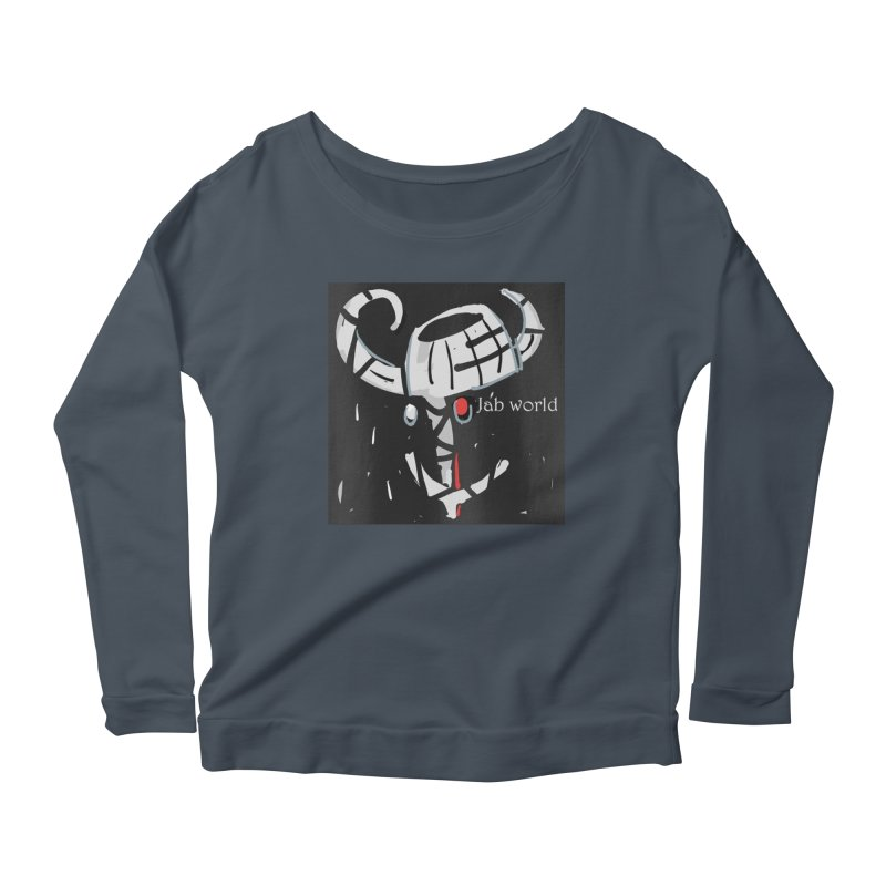 Jab Title Women's Scoop Neck Longsleeve T-Shirt by Mozayic's Artist Shop