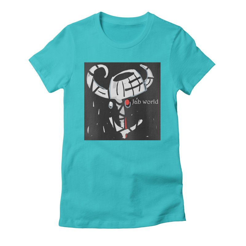 Jab Title Women's Fitted T-Shirt by Mozayic's Artist Shop