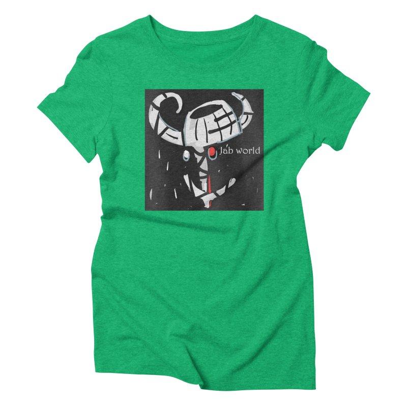 Jab Title Women's Triblend T-Shirt by Mozayic's Artist Shop