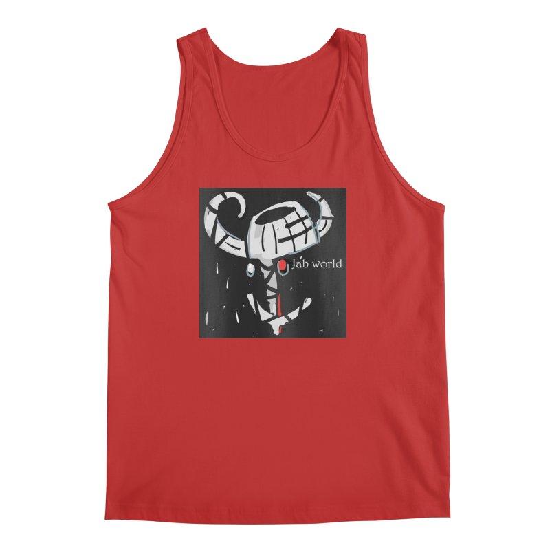 Jab Title Men's Regular Tank by Mozayic's Artist Shop