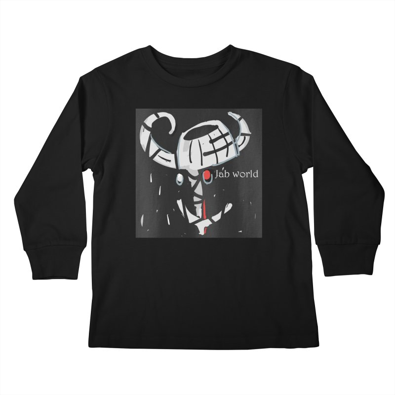 Jab Title Kids Longsleeve T-Shirt by Mozayic's Artist Shop