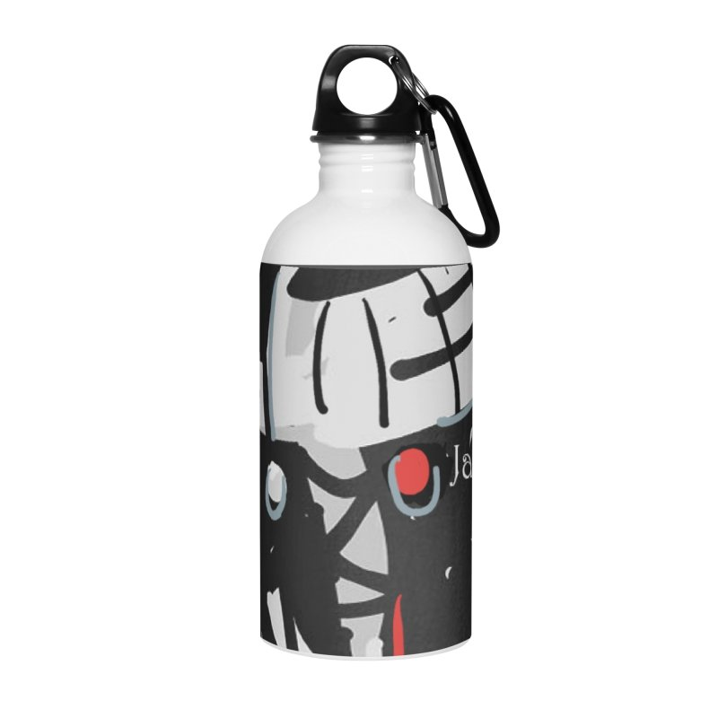 Jab Title Accessories Water Bottle by Mozayic's Artist Shop