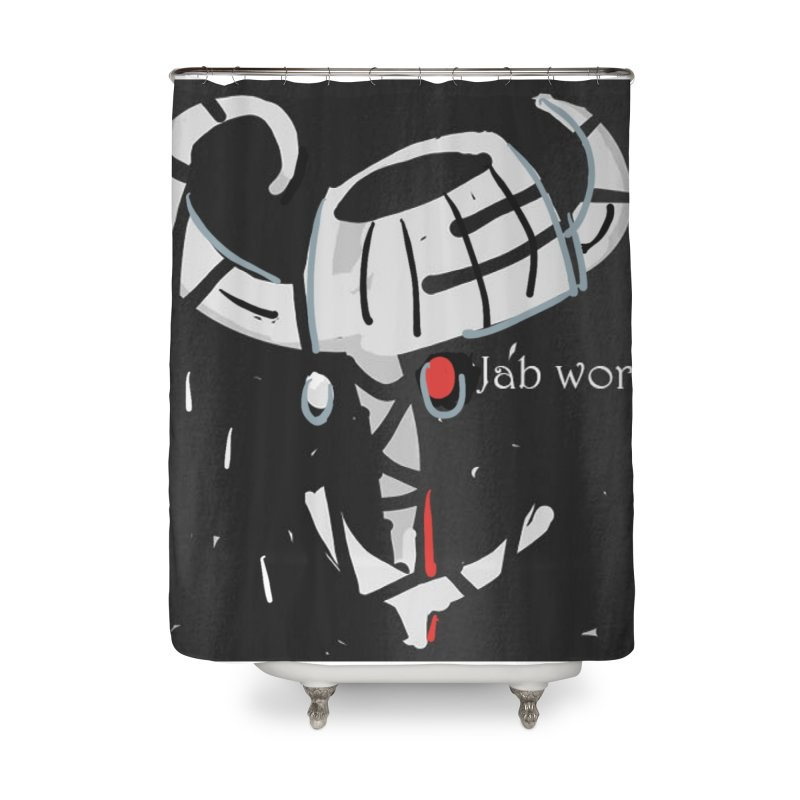 Jab Title Home Shower Curtain by Mozayic's Artist Shop