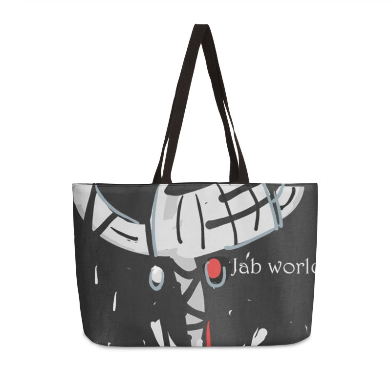 Jab Title Accessories Weekender Bag Bag by Mozayic's Artist Shop