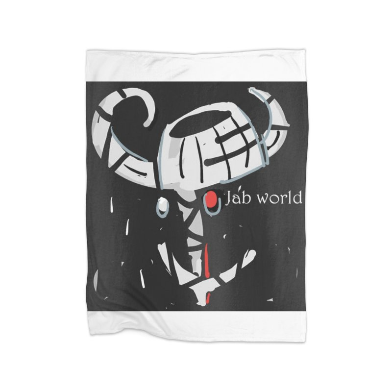 Jab Title Home Fleece Blanket Blanket by Mozayic's Artist Shop