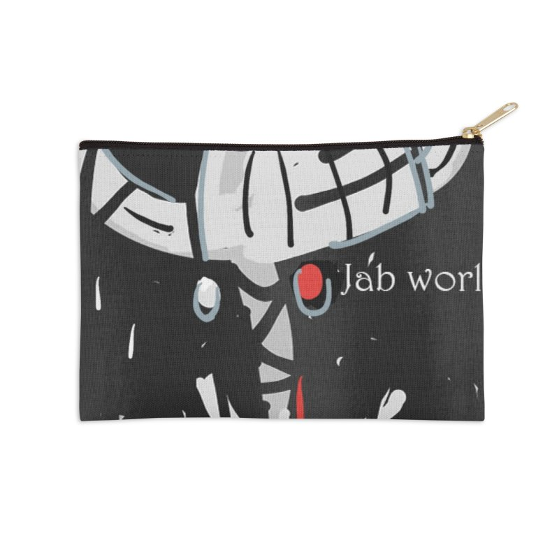 Jab Title Accessories Zip Pouch by Mozayic's Artist Shop