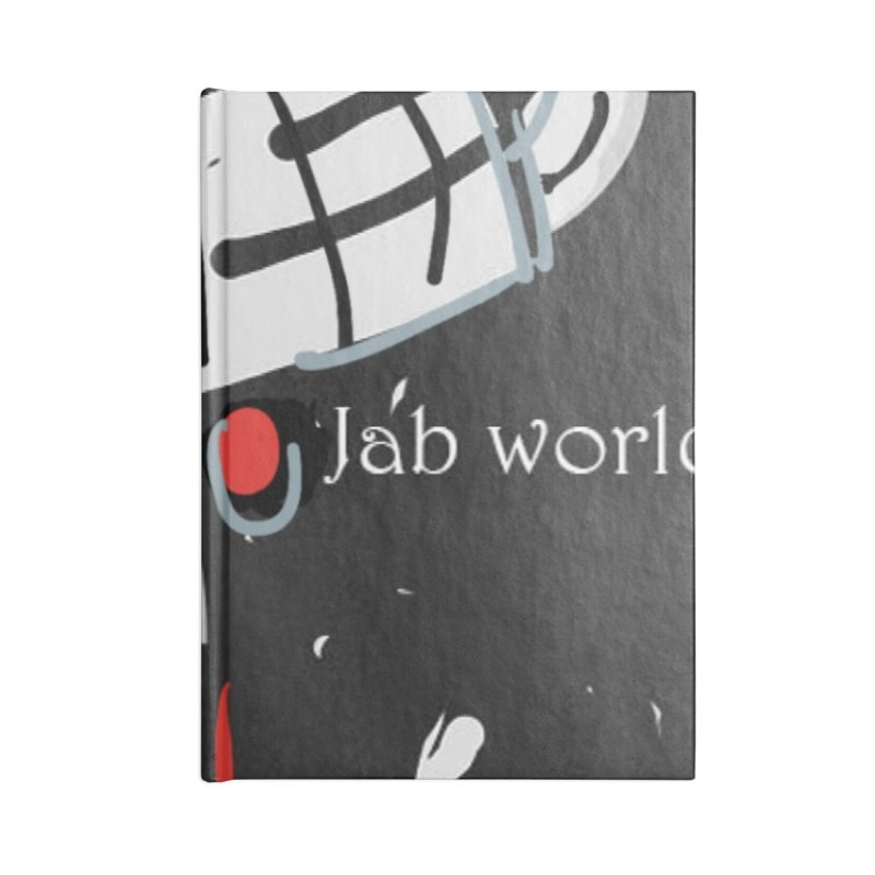 Jab Title Accessories Lined Journal Notebook by Mozayic's Artist Shop