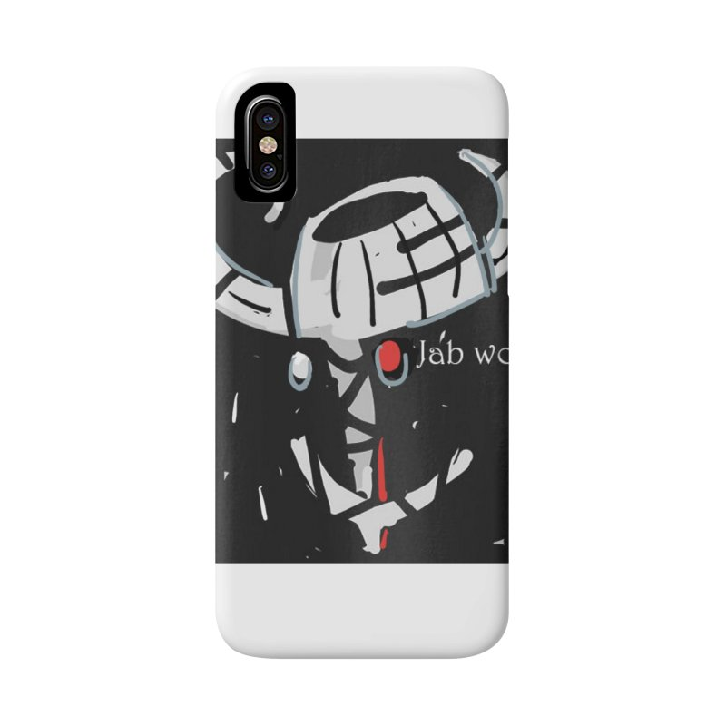 Jab Title Accessories Phone Case by Mozayic's Artist Shop