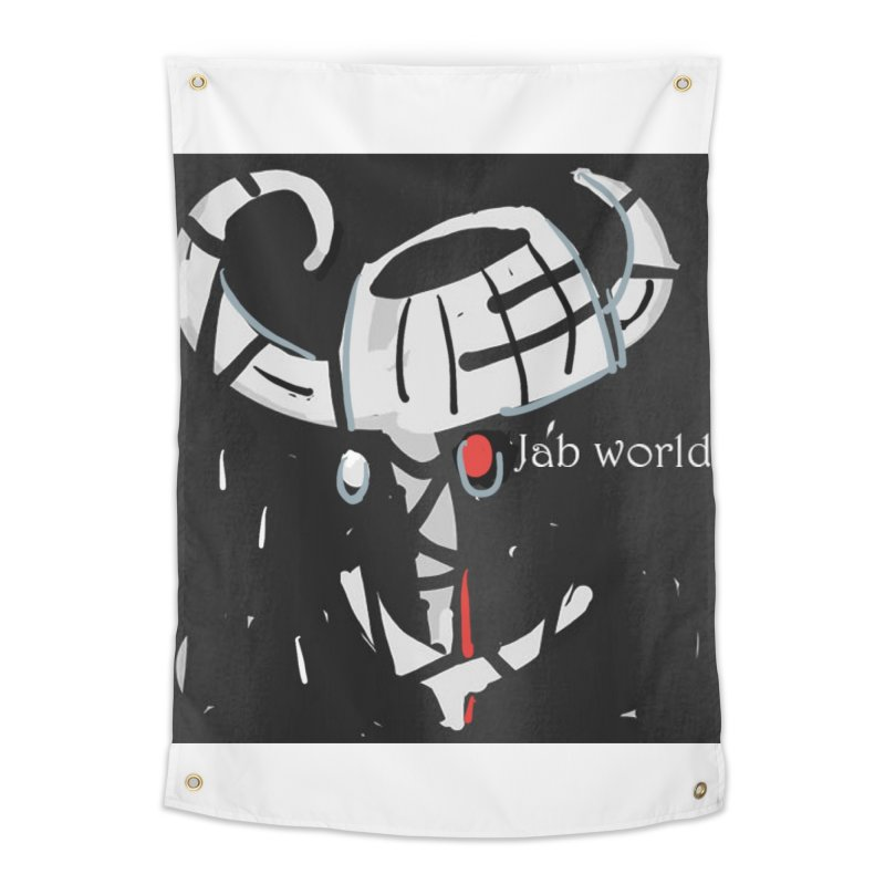 Jab Title Home Tapestry by Mozayic's Artist Shop