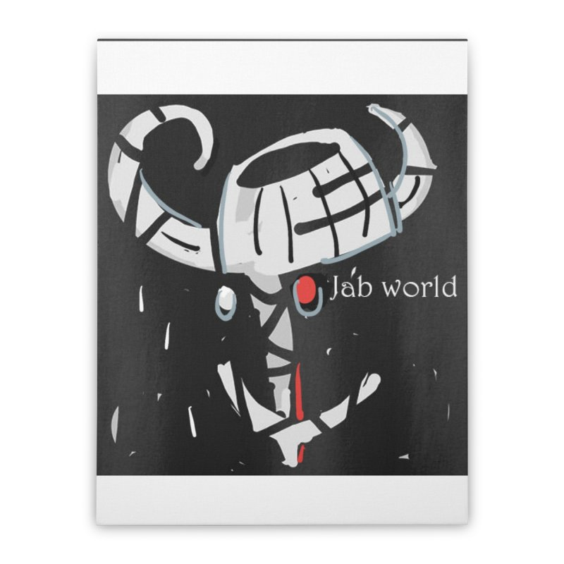 Jab Title Home Stretched Canvas by Mozayic's Artist Shop