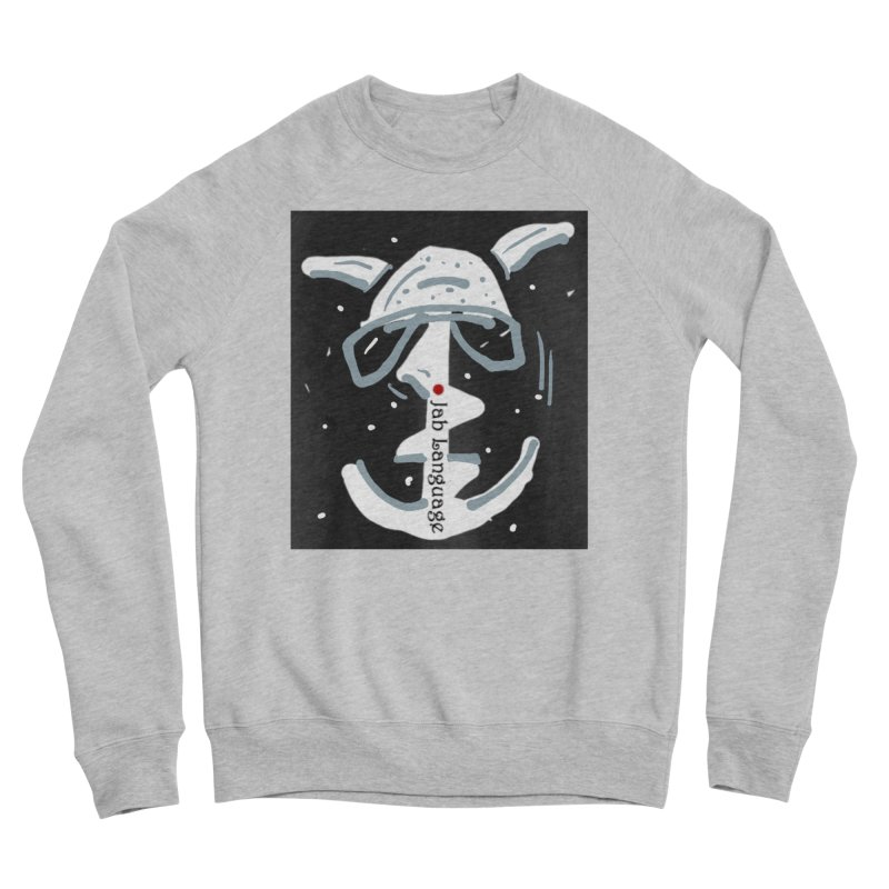 Jab Language Women's Sponge Fleece Sweatshirt by Mozayic's Artist Shop