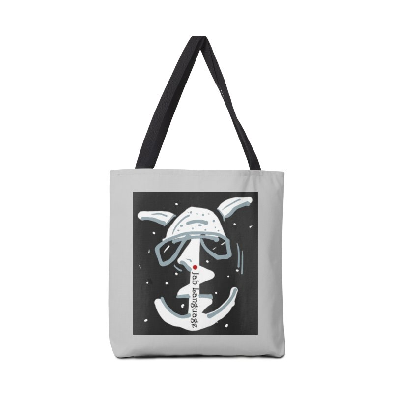 Jab Language Accessories Bag by Mozayic's Artist Shop