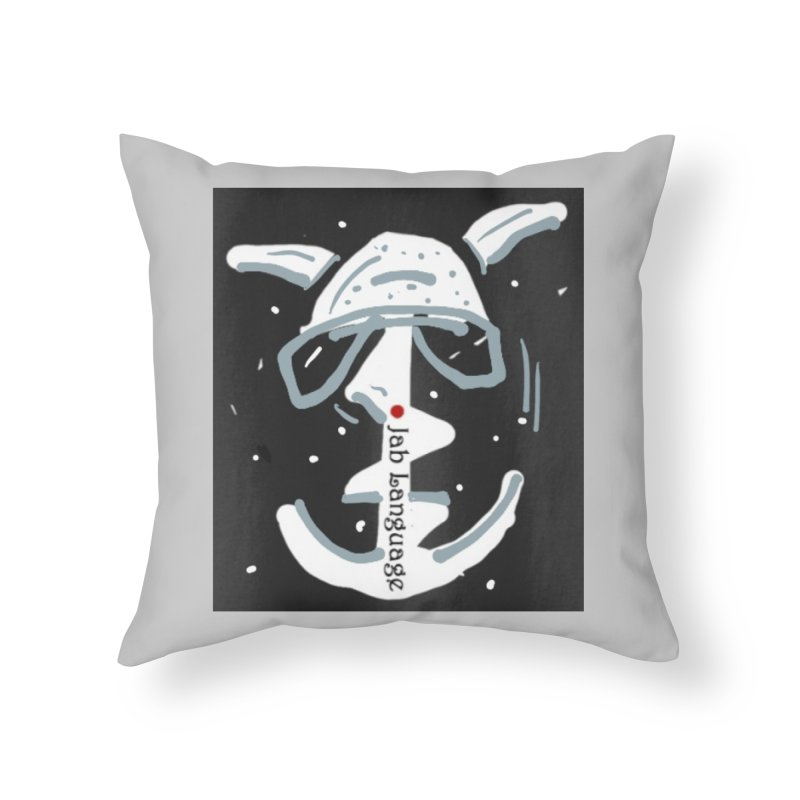 Jab Language Home Throw Pillow by Mozayic's Artist Shop