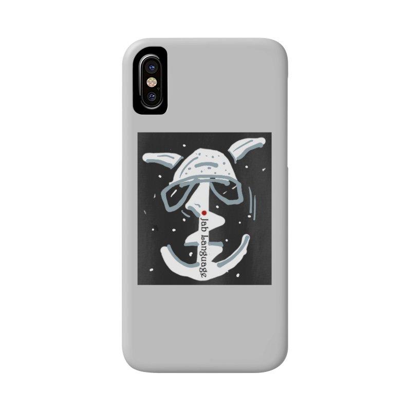 Jab Language Accessories Phone Case by Mozayic's Artist Shop