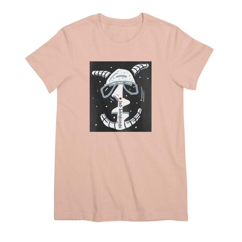 Jab Language Women's Premium T-Shirt by Mozayic's Artist Shop