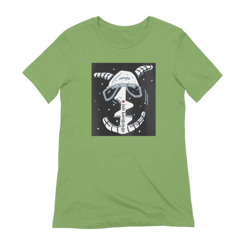 Jab Language Women's Extra Soft T-Shirt by Mozayic's Artist Shop