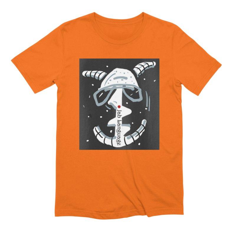 Jab Language Men's Extra Soft T-Shirt by Mozayic's Artist Shop