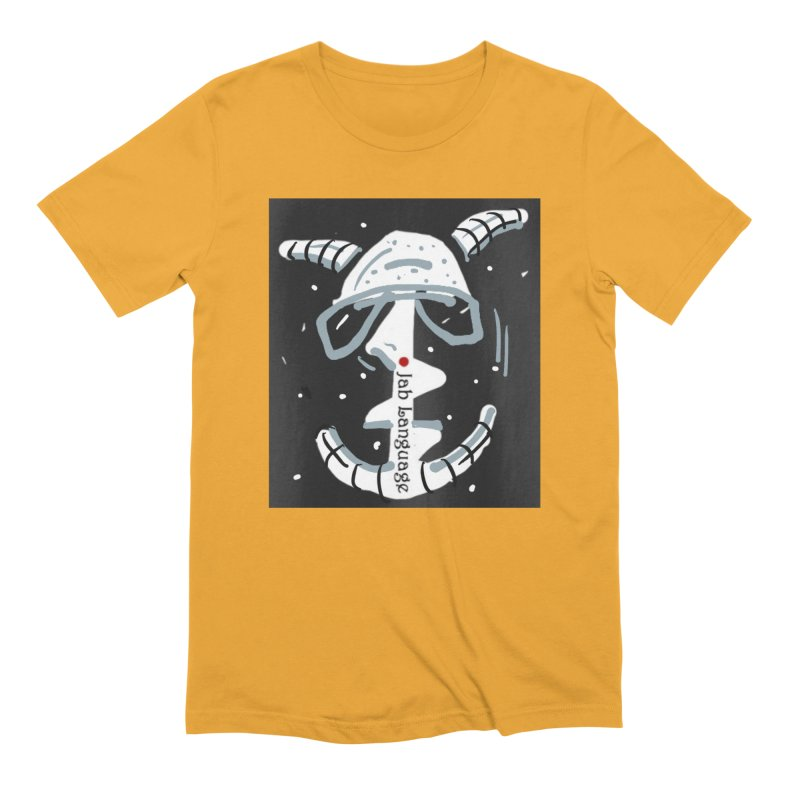 Jab Language Men's Extra Soft T-Shirt by Mozayic's Artist Shop