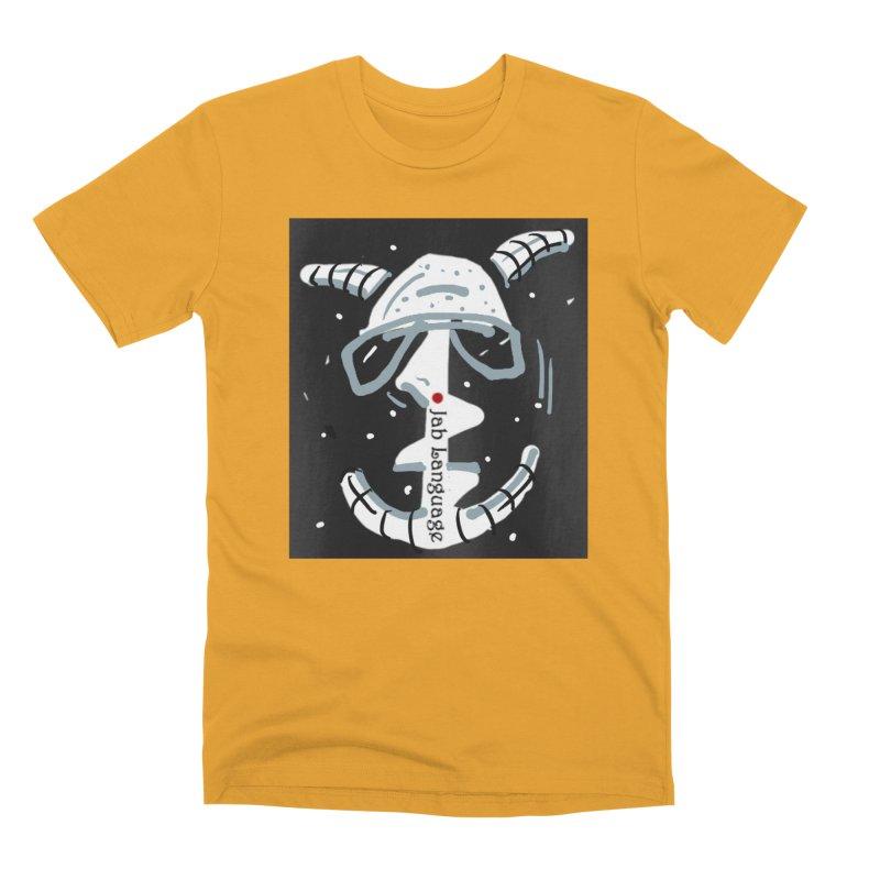 Jab Language Men's Premium T-Shirt by Mozayic's Artist Shop