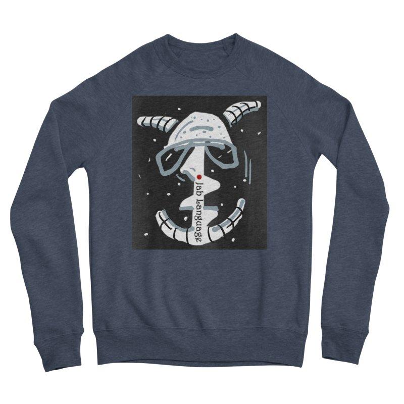 Jab Language Men's Sponge Fleece Sweatshirt by Mozayic's Artist Shop