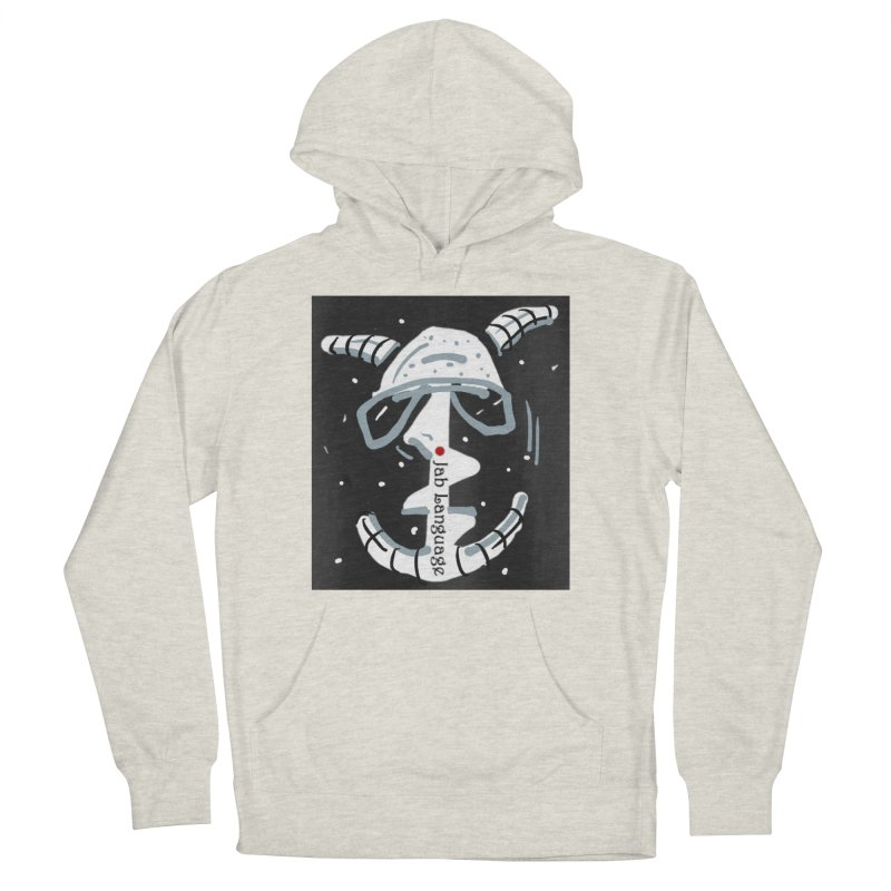 Jab Language Women's French Terry Pullover Hoody by Mozayic's Artist Shop