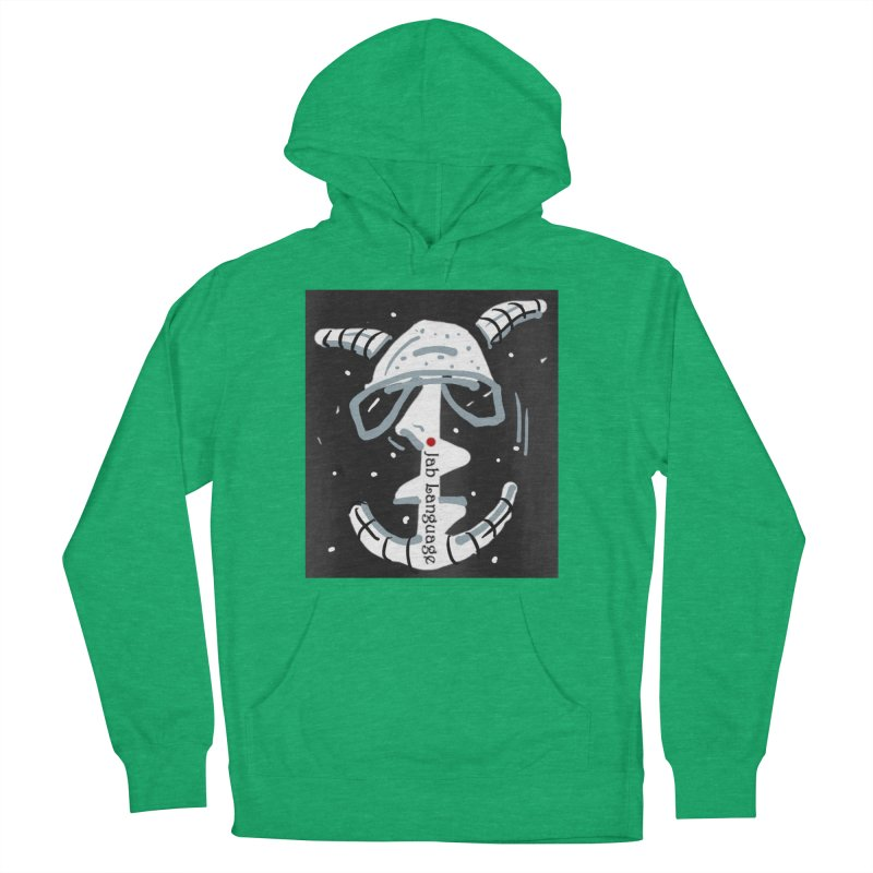 Jab Language Men's French Terry Pullover Hoody by Mozayic's Artist Shop